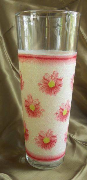Стъклена ваза   №28
