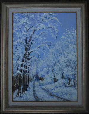 My winter street   №643
