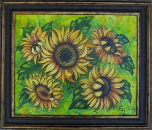Sunflowers. № 669