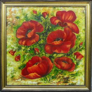 Poppies.  № 668