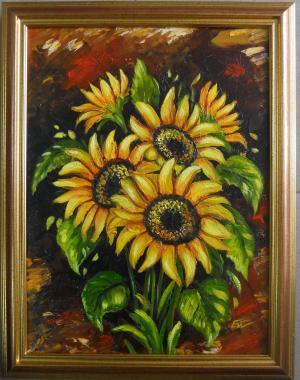 Sunflowers. № 654