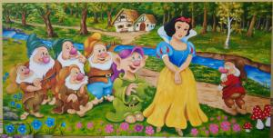№ 706 Snow White and the Seven Dwarfs.