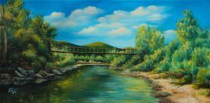 Въжен мост над река Малък Искър   №813