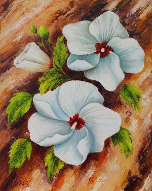 Пролетен триптих (бяла ружа)   №873
